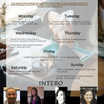 UC INTERO WEEK AT A GLANCE