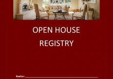 OPEN HOUSE Register Pages