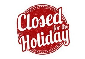 Office Closed for the Holiday